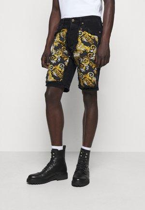 Denim shorts - nero