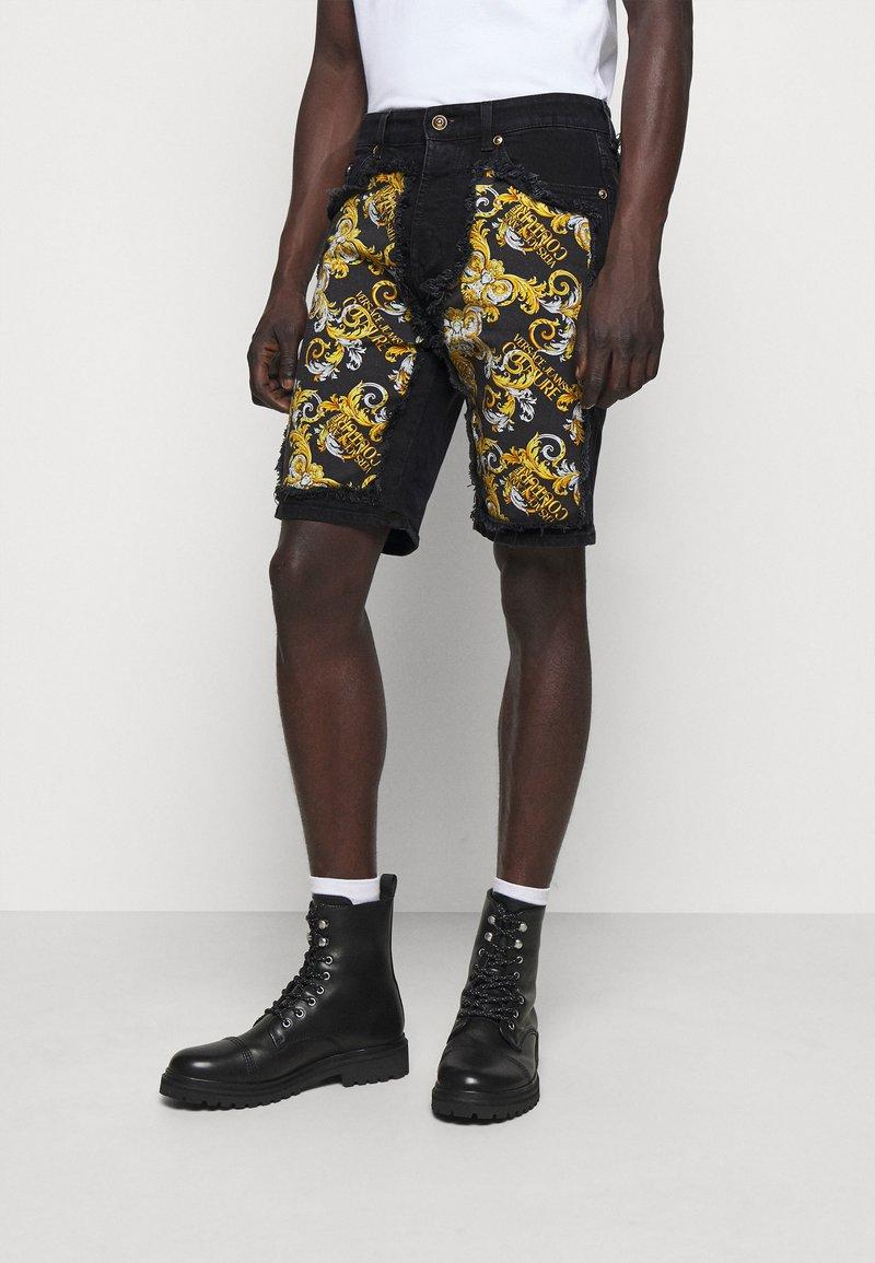 Versace Jeans Couture - Denim shorts - nero