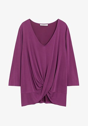 MIMO - Long sleeved top - granatrot