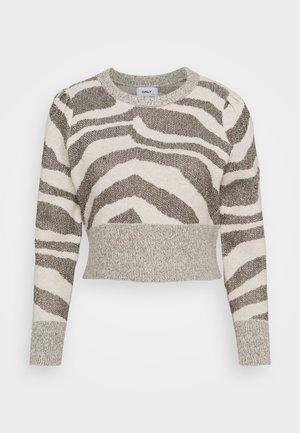 ONLNEELA LIFE PETIT  - Jumper - whitecap gray