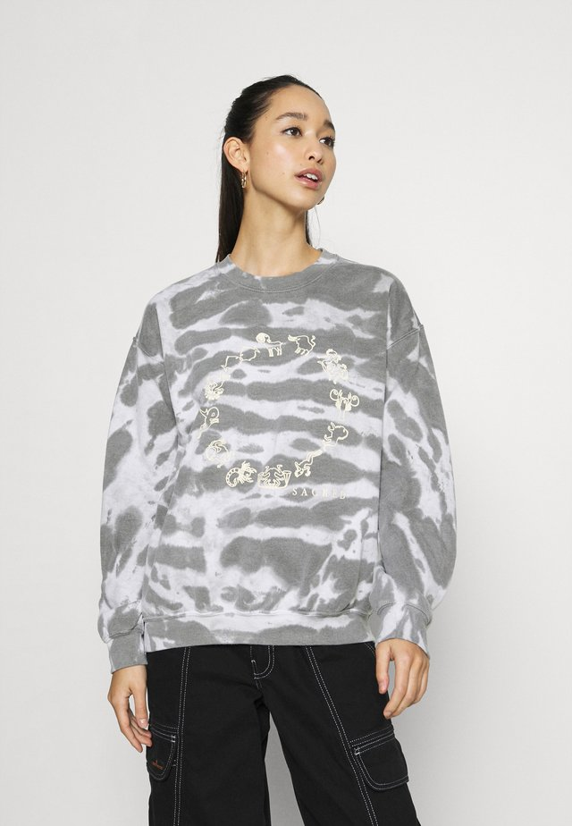 SACRED SYMBOLS  - Sweater - grey