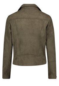 Cartoon - Faux leather jacket - dunkelgrün - 1