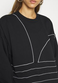 adidas Originals - Sweatshirt - black/white - 5