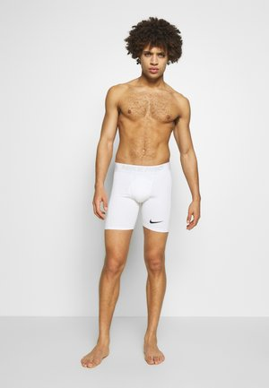 SHORT - Pants - white/black