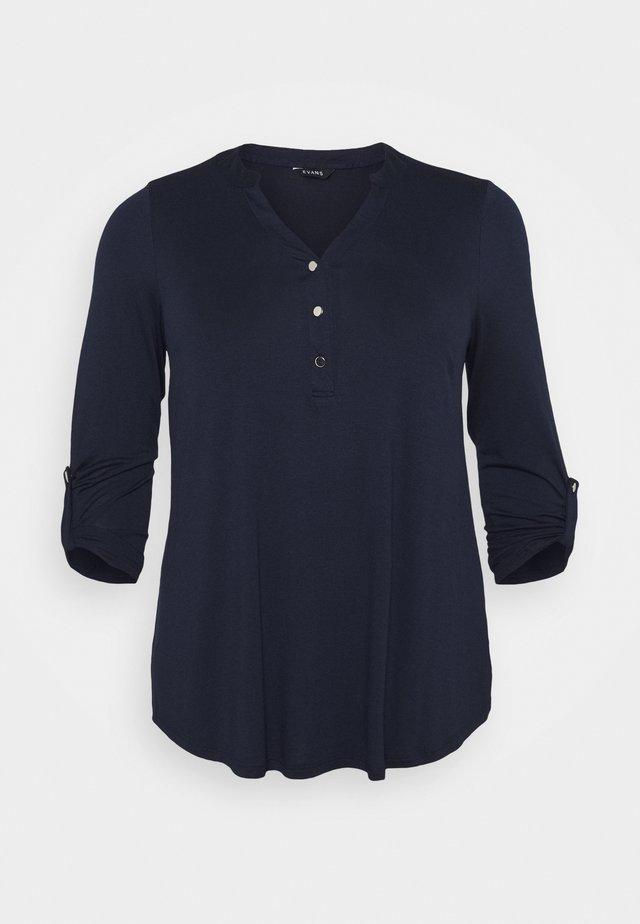 Camiseta de manga larga - navy