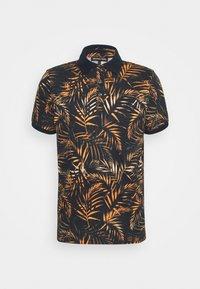 Michael Kors - LEAF PRINTED - Polo shirt - dark blue - 0