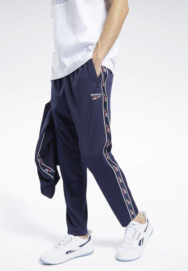 CLASSICS VECTOR TAPE JOGGERS - Pantalon de survêtement - blue