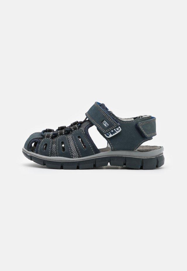 Chodecké sandály - azzurro