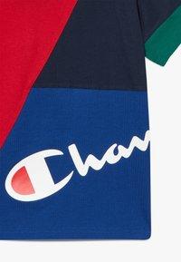 Champion - ROCHESTER TEAM STRIPES CREWNECK - T-shirt con stampa - multicoloured - 4