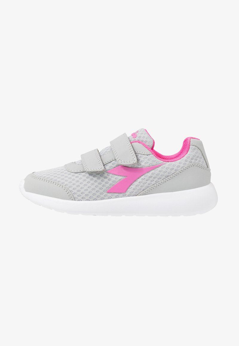 Diadora - ROBIN - Neutral running shoes - silver/pink passion