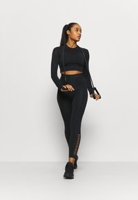Even&Odd active - Long sleeved top - black - 1