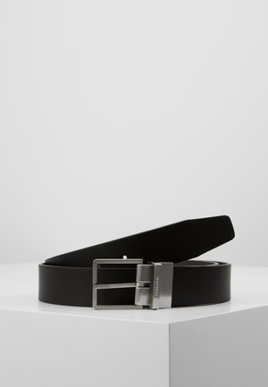 FORMAL BELT  - Bælter - black/brown