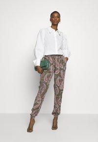 Kaffe - ROKA AMBER PANTS - Trousers - grape leaf - 1