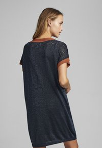 Nümph - NUBELINDA DRESS - Day dress - dark blue - 1