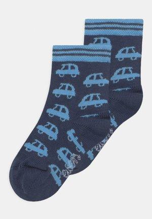 AUTOS 2 PACK - Ponožky - navy