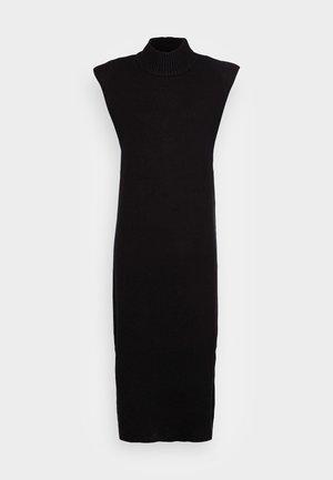 PAM DRESS - Jumper dress - black