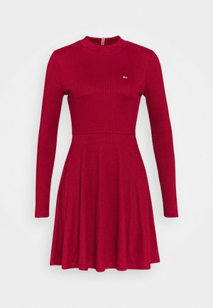 Jumper dress - wine red