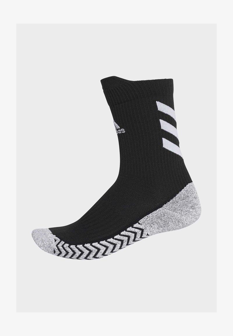 adidas Performance - ALPHASKIN TRAXION CREW SOCKS - Sports socks - black