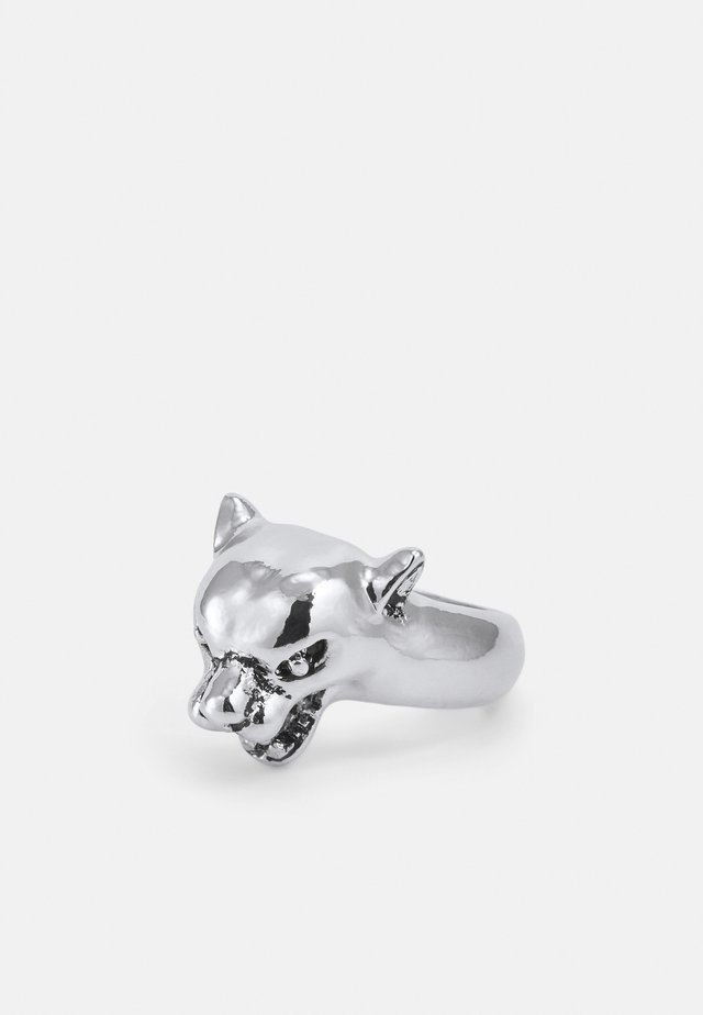 WILDCATS 3D PANTHER RING - Anello - silver-coloured