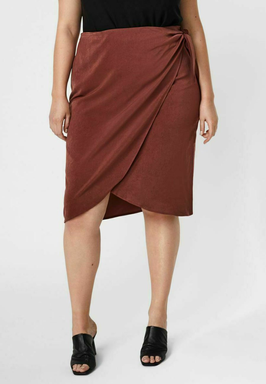 Mujer Falda cruzada