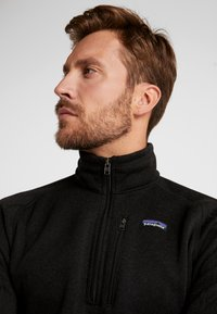 Patagonia - BETTER 1/4 ZIP - Sweat polaire - black - 3