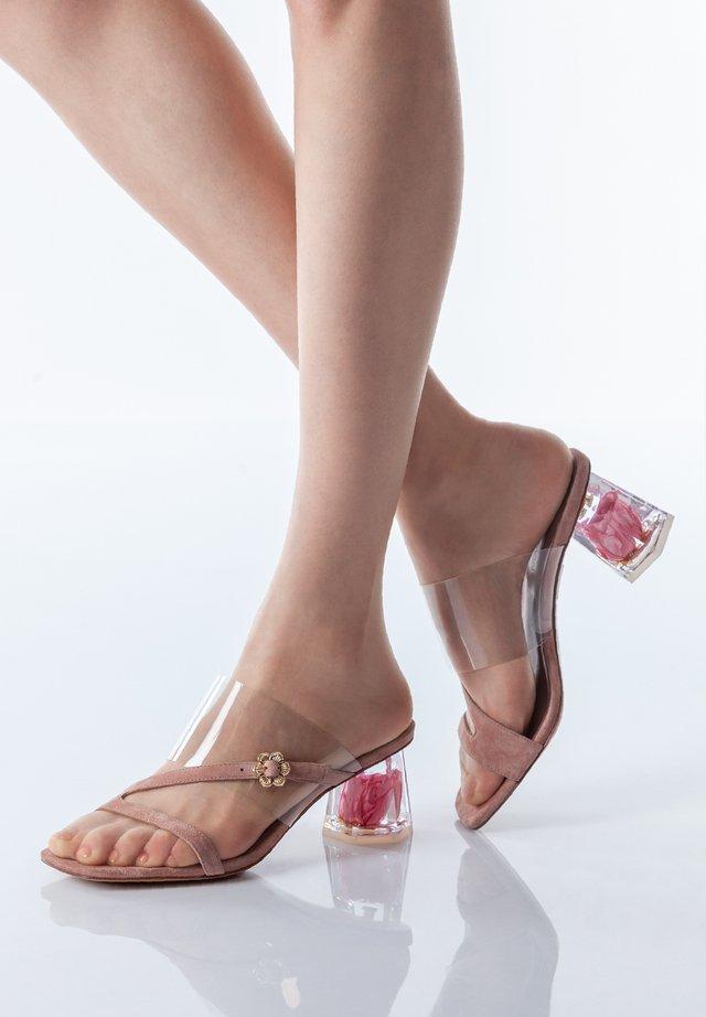 Sandalen - pink