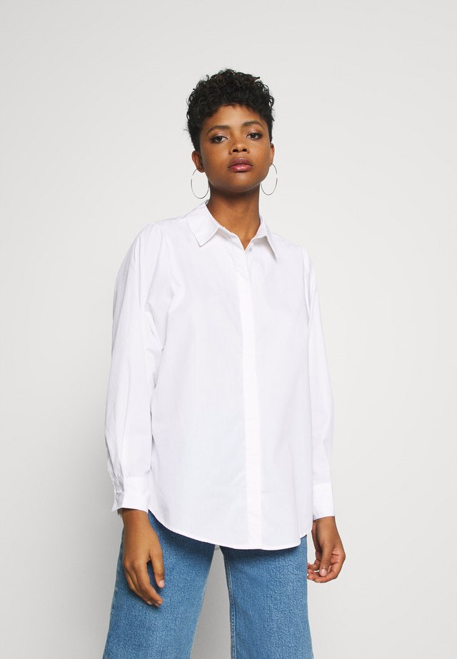 VMMIE SHIRT  - Button-down blouse - bright white