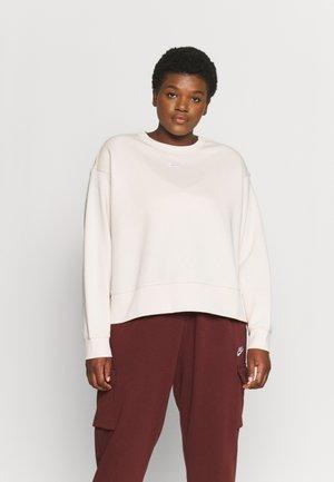Sweatshirt - pearl white/white