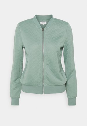 ONLJOYCE - Sweatjacke - chinois green