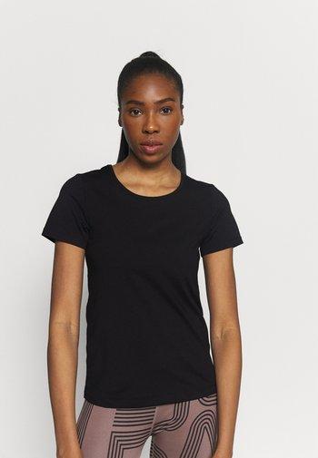ICONIC TEE - Basic T-shirt - black