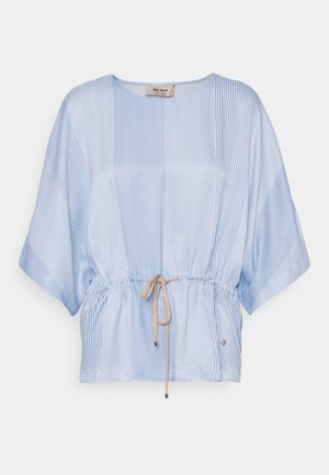RIKAS ISLAND BLOUSE - Túnica - bel air blue