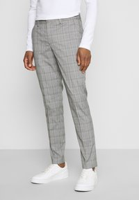 Selected Homme - SLHSLIM KYLELOGAN - Suit - light gray - 4