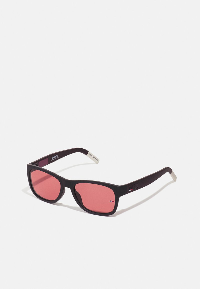 Tommy Jeans - UNISEX - Sluneční brýle - black/burgundy