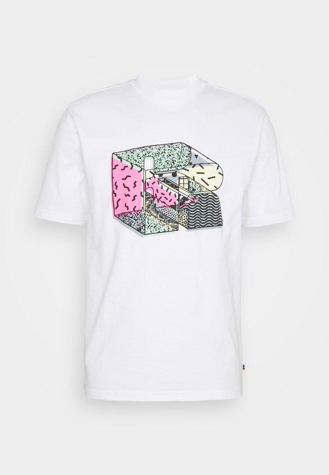 STAMFORD - T-shirt print - white