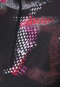 H2O Fagerholt - HIGH HIGH NECK - Top sdlouhým rukávem - black multi - 2