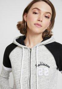 Hollister Co. - CORE - Zip-up hoodie - heather grey - 3