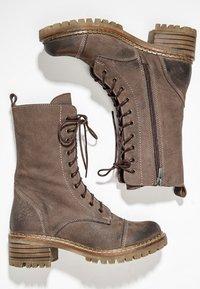 Inuovo - Platform ankle boots - nb brown ubr - 2