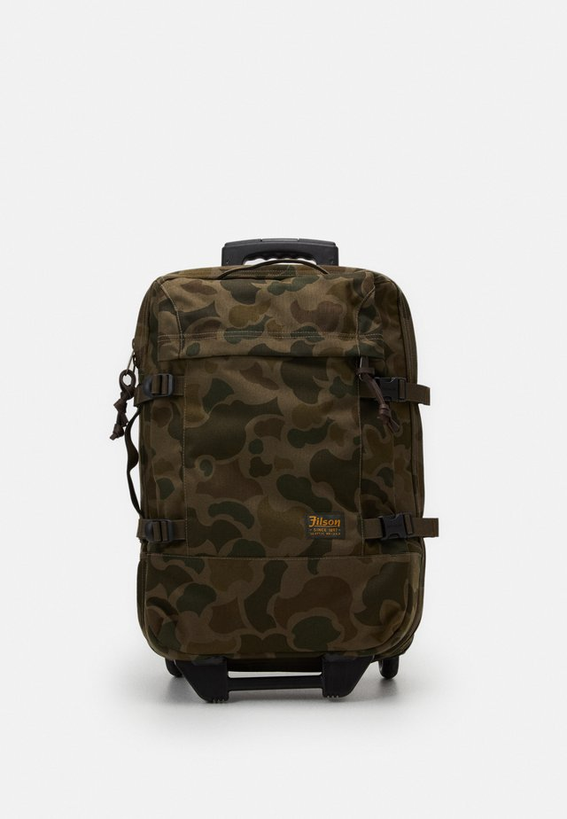 DRYDEN 2 WHEELED CARRY ON BAG - Matkalaukku - mottled olive