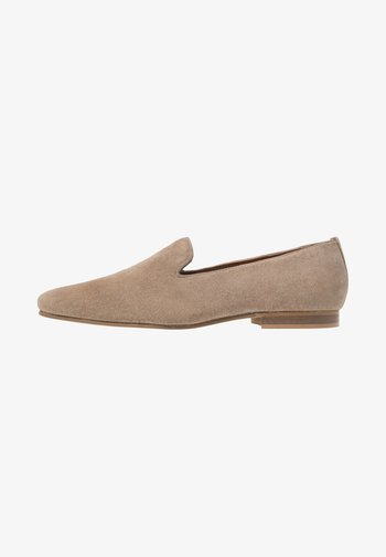 LEATHER  - Elegantní nazouvací boty - taupe