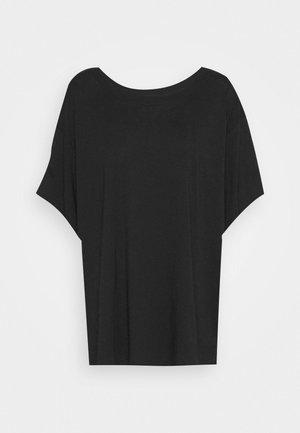 REBECCA - Camiseta básica - black