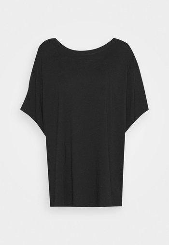 REBECCA - Basic T-shirt - black