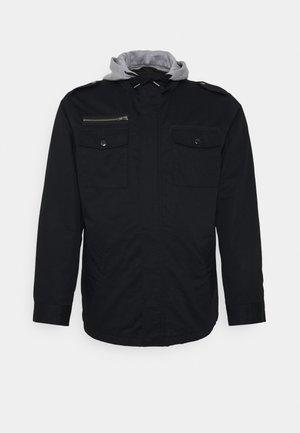 RESERVE HOODED JACKET - Lehká bunda - black
