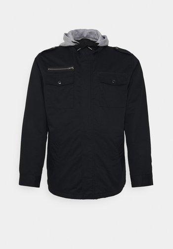 RESERVE HOODED JACKET - Light jacket - black