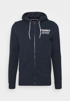 ESSENTIAL GRAPHIC ZIPTHROUGH - Hoodie met rits - twilight navy