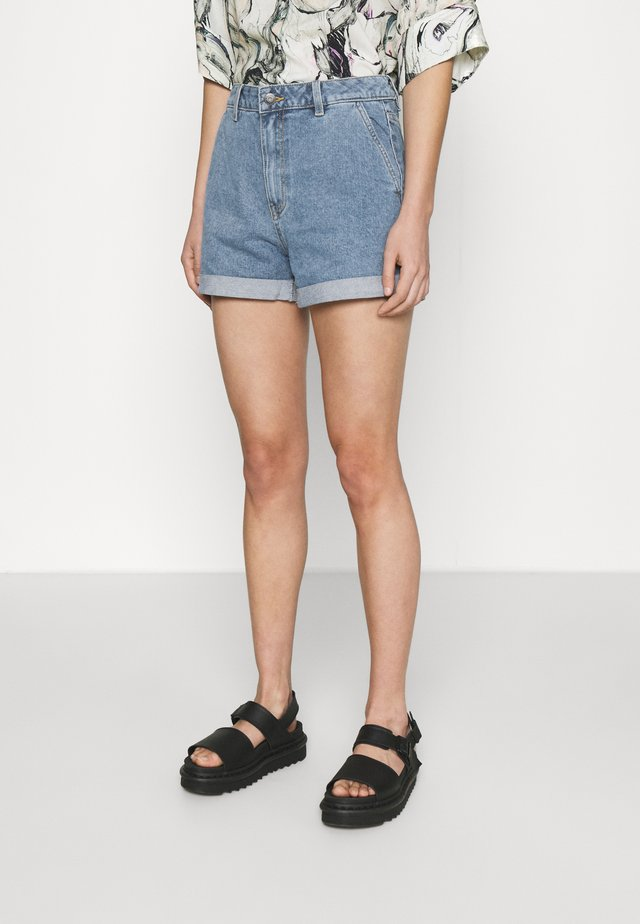 OBJPENNY  - Shorts di jeans - light blue denim