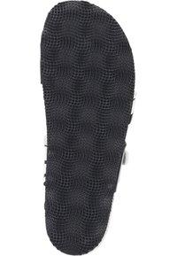 Dr. Brinkmann - T-bar sandals - weiß/zebra - 3