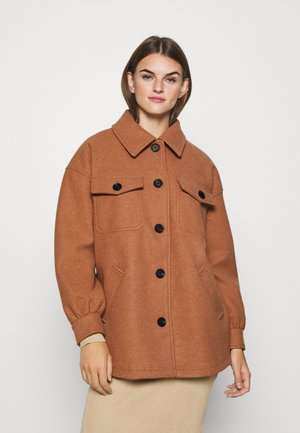 ONLLIVA SHACKET - Classic coat - camel