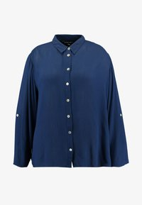 CAPSULE by Simply Be - Button-down blouse - navy - 4