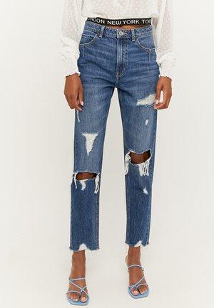Slim fit jeans - blu017