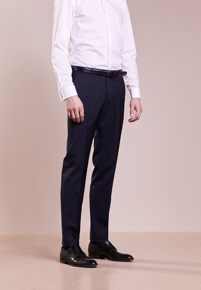 SIMMONS - Suit trousers - dark blue